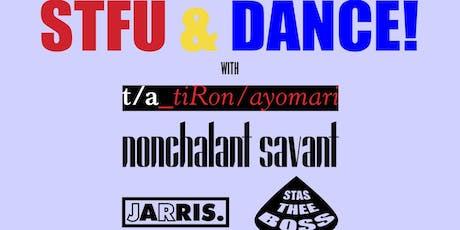 TiRon & Ayomari with Nonchalant Savant, Stas Thee Boss, & JR Jarris tickets