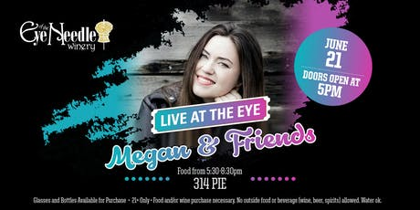 LIVE at the Eye:   Megan Moreau & Friends June  21st at 5:00 pm tickets
