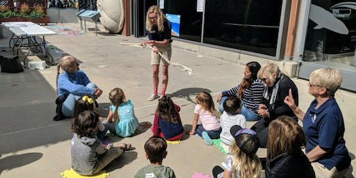 Little Naturalists: Feathers, Flippers & Fins Drop In