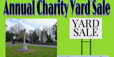 Elm & Friday Bridge Annual Charity Yard Sale