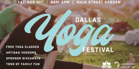 DFW Free Day of Yoga's Dallas Yoga Festival: 13th Annual~ Vendors, Fun, Giveaways, Food and Music tickets