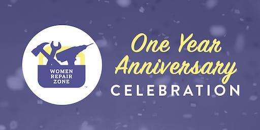 Women Repair Zone's One Year Anniversary Celebration
