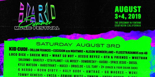 Hard Summer GA 2019 2 Day Pass