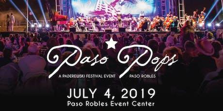 2019 PASO POPS - VOLUNTEERS tickets