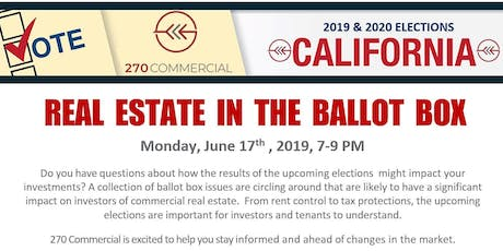 Real Estate in the Ballot Box tickets