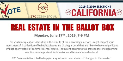 Real Estate in the Ballot Box