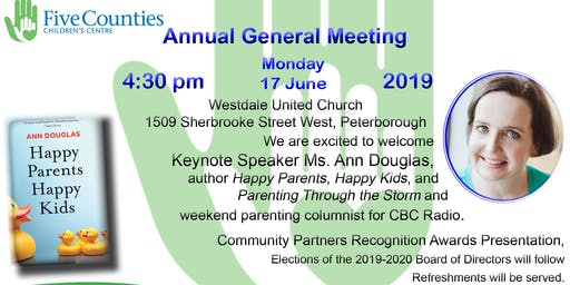 Five Counties Children's Centre 2019 Annual General Meeting