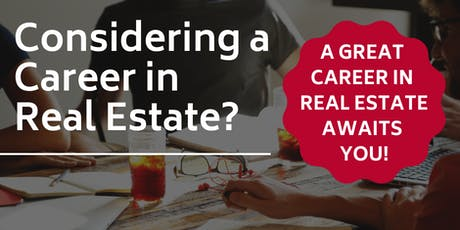 Career in Real Estate tickets