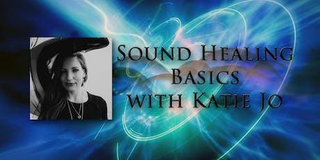 Sound Healing Basics Class with Katie Jo tickets