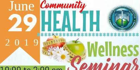 Community Health and Wellness Seminar