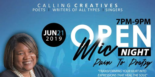 Open Mic Night - Pain to Poetry