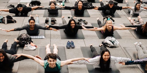 Yoga in the Square 2019