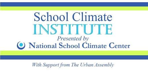 2019 School Climate Institute