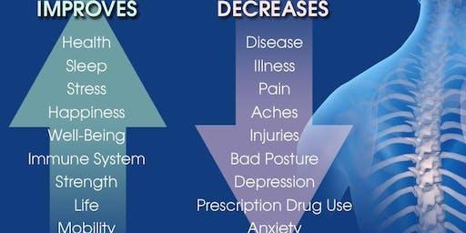 Benefits of Chiropractic - Free Workshop