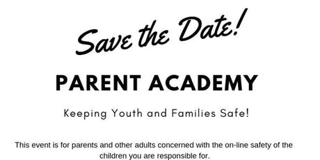 Y.E.S.S. Parent Academy - Social/Digital Media and Human Trafficking tickets