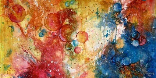 JULY 23 WATERCOLOR TEXTURE CLASS