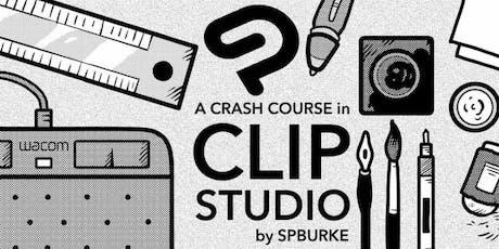 Crash Course in CLIP STUDIO (Summer Edition) tickets