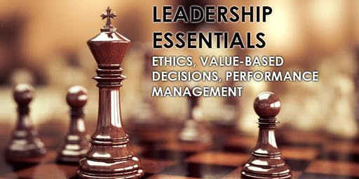Leadership Essentials & Performance Management 2-day Workshop