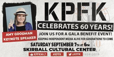 The KPFK 60th Anniversary Gala tickets