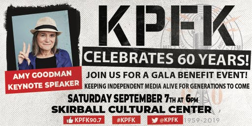 The KPFK 60th Anniversary Gala