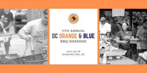 11th Annual DC Orange & Blue BBQ | 7.27.19