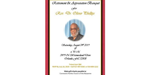 Retirement Banquet & Celebratory Service  - Dr. Oliver Phillips - Lead Connector