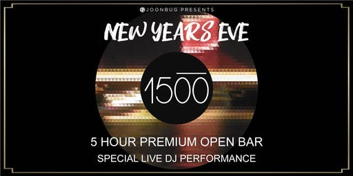 Joonbug.com Presents 1500 Lounge New Years Eve Party 2020