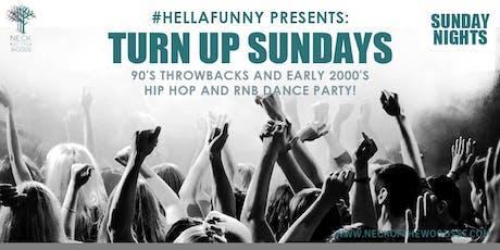 Turn Up Sundays tickets