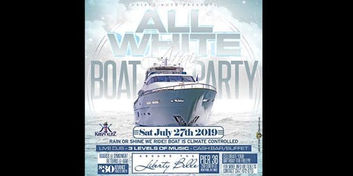 ALL WHITE AFFAIR BOAT PARTY