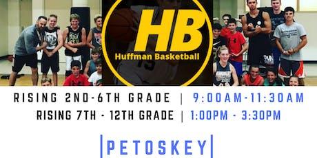 HUFFMAN BASKETBALL   PETOSKEY HIGH SCHOOL   2ND - 6TH GRADE BOYS/GIRLS tickets