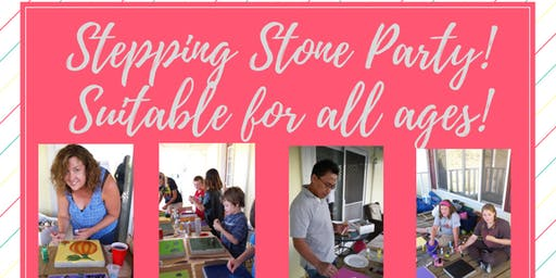 Stepping Stone Painting Party
