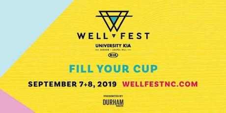 WellFest tickets