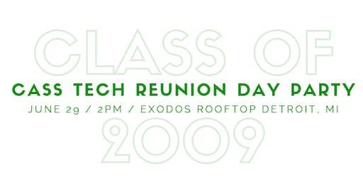 Cass Tech Class of '09 Reunion Day Party