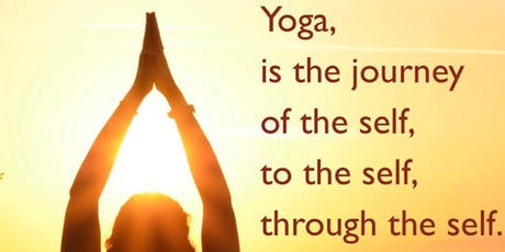 Overcoming stress in daily life with Yoga Philosophy tickets