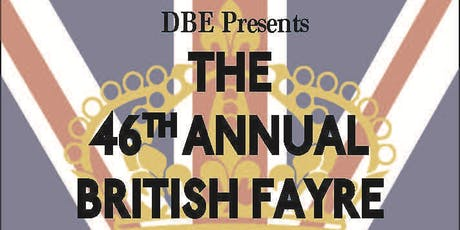 46th Annual British Fayre tickets