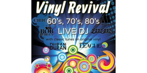60s, 70s & 80s Party Night at The Fieldhouse - ft Vinyl Revival