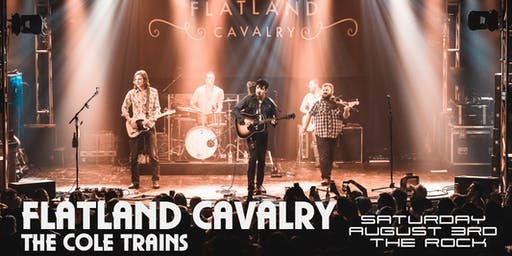 FLATLAND CAVALRY with the COLE  TRAINS