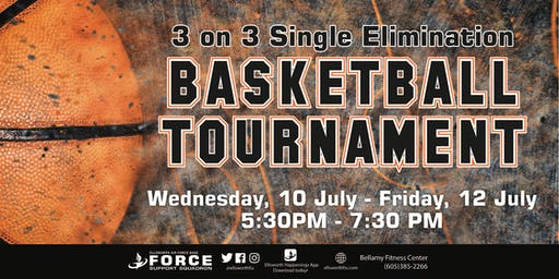 BFC - 3 on 3 Single Elimination Basketball Tournament