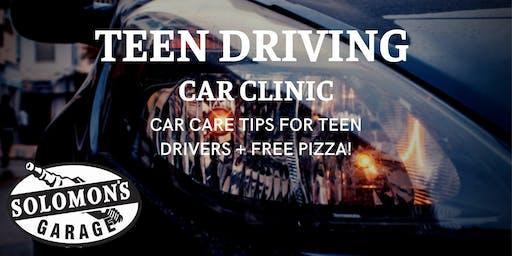 Teen Driving Car Clinic