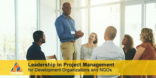 Online Course: Leadership in Project Management for Development (October 14, 2019)