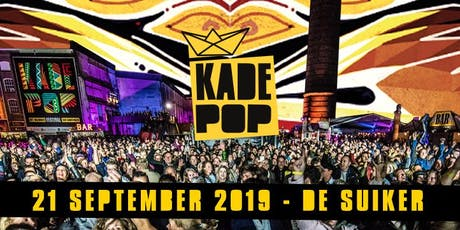 Kadepop 2019 | Editie 8 tickets