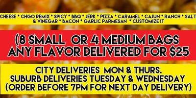 Popacorn Popcorn Delivery        773 367 2826 -- Cash app --> $popacornman