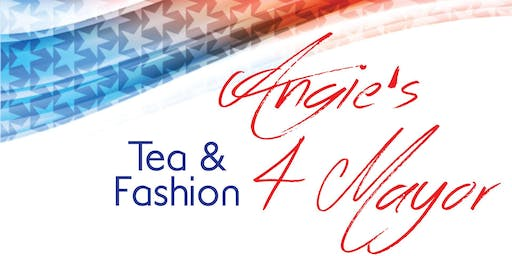 2019 Honorary Mayor Tea & Fashion Show for Angie Kagey
