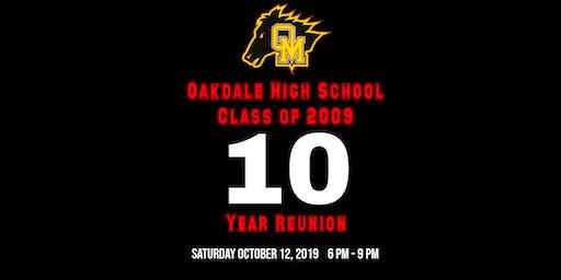 Oakdale High School Class of 2009 Reunion