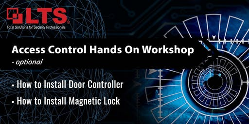 Access Control 2802 Controller with Maglock installation workshop