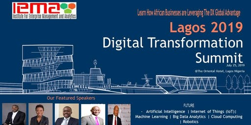 LAGOS 2019 Digital Transformation Summit