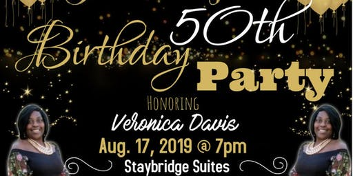 Veronica's Fabulous 50th Birthday Party