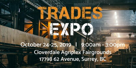 Trades Expo 2019 - Registration tickets