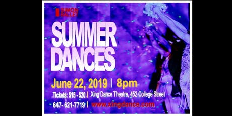 SUMMER DANCES June 22, 2019 - Simon Ballet  tickets