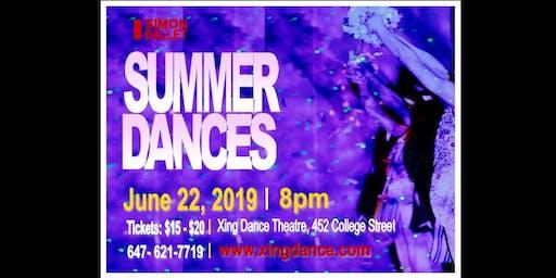 SUMMER DANCES June 22, 2019 - Simon Ballet